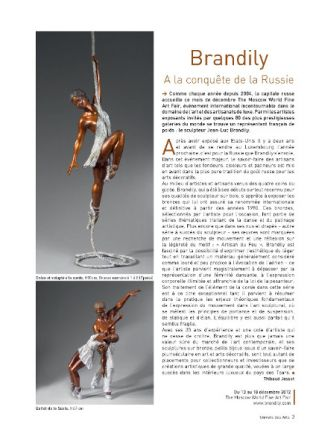 Univers des Arts - Dec. 2012